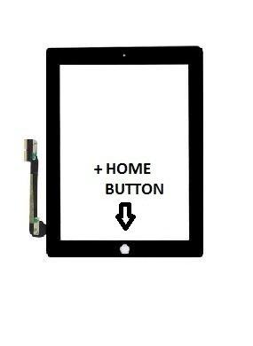 Digitaler Glas-Touchscreen für Apple iPad 4 4G, A1460, A1458, A1459, schwarz