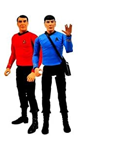 Diamond Select Toys Star Trek The Original Series Action Figure 2-Pack Mr. Spock and Scotty
