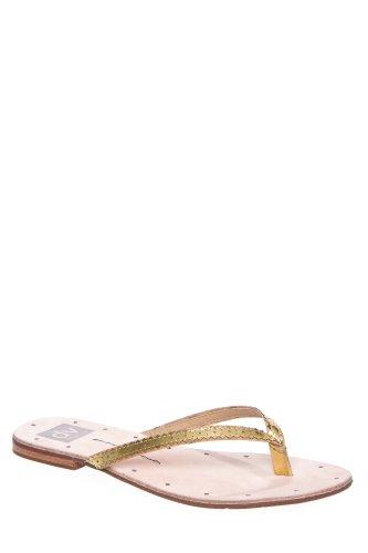 Dolce Vita Orie Flip Flop Sandal - Gold Specchio Stella