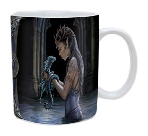 Anne Stokes Water Dragon Ceramic Mug