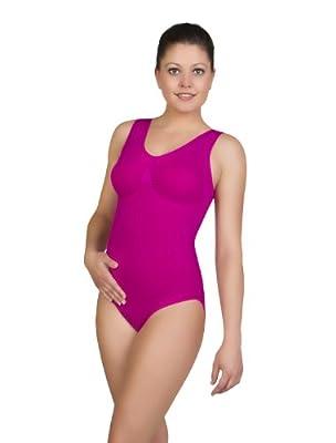 bellycloud Damen Body figurformender seamless Body mit V-Ausschnitt from Edmund Lutz KG