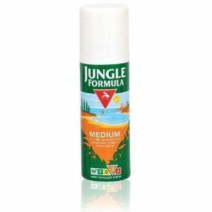 JUNGLE FORMULA Insect Repellent Factor Medium Aerosol Spray 125ml