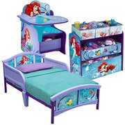 Disney Little Mermaid Multi-Bin Toy Organizer by Disney