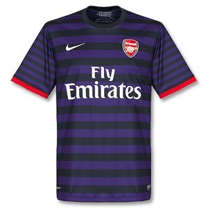 Arsenal FC 12/13 S/S Away Replica Football Shirt - size S