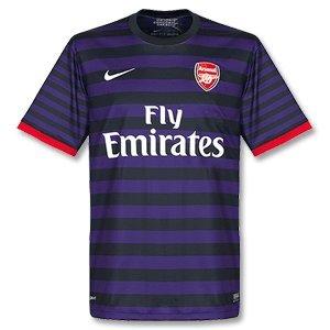 Arsenal FC 12/13 S/S Away Replica Football Shirt - size S