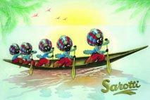 sarotti-chocolate-5-mohren-en-barco-cartel-de-chapa-20-x-30-cm-rv-sign-chapa-cartel-carteles