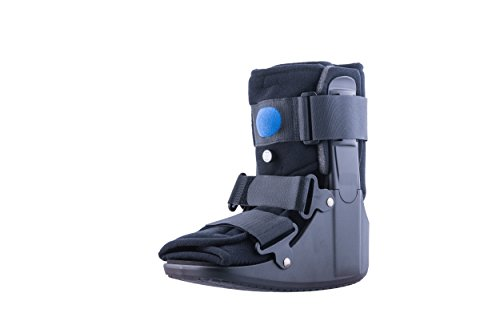 New Design! Mars Wellness Premium Short Air Cam Walker Fracture Ankle / Foot Stabilizer Boot - Large (Walking Cast Boot Large compare prices)