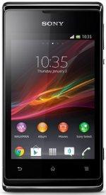 Sony XPERIA E C1504 (Black 黒 ブラック) SIM フリー 海外携帯