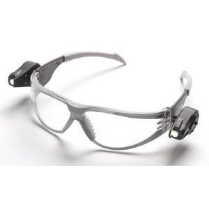 3M Safety Glasses Light Vision Led Lights Clear Af Lens