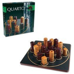 Quarto Classic Wooden Board Game