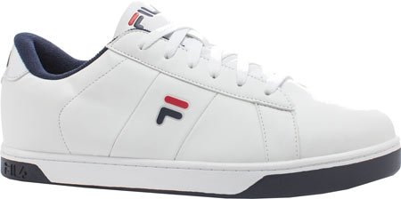 Fila Men's Westlake Casual Sneakers, White Synthetic, 10.5 M