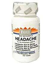 Headache 300 mg 100 Tablets by Heel/BHI