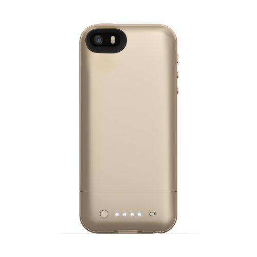 日本正規代理店品・保証付mophie juice pack air for iPhone 5s/5 ゴールド MOP-PH-000059