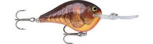 Rapala Dives-To 06 Fishing Lure (Dark Brown Crawdad)