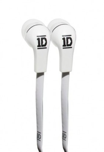 One Direction In-Ear Headphones - Jellies/White