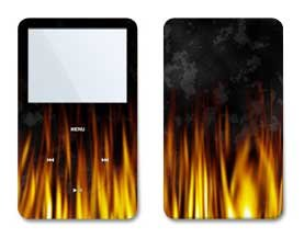 BBQ Design iPod classic 80GB/ 120GB Protector Skin Decal Sticker