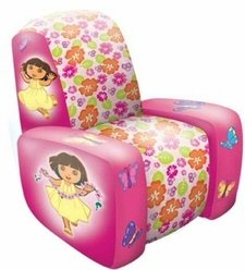 Inflatable Dora the Explorer Chair