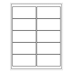 avery 2 x 3 label template - blank templates labels divider templates avery party