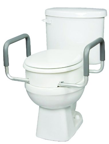 Toilet Seat Elevator with Handles Elongated