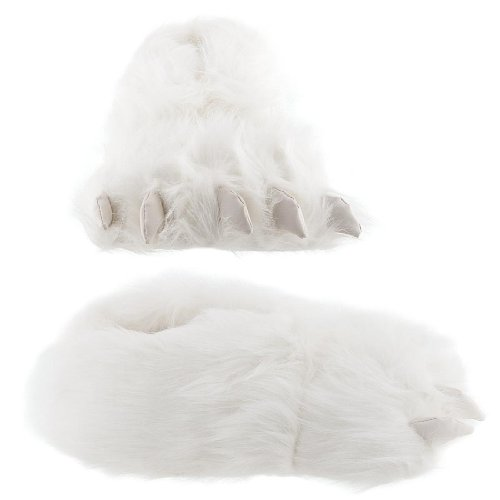 Cheap Polar Bear Paw Slippers for Men and Women (B002VYJZ5O)
