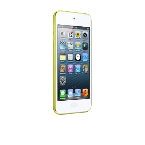 Baladeur Vido APPLEIPODTOUCH5EGJAUNE64GO