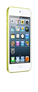 "Apple iPod touch 5G 32GB - Reproductor de MP3 (32 GB de capacidad, pantalla táctil de 4"", Wifi, Bluetooth, cámara 5 Mp) color amarillo [importado]"