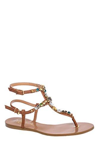 Zoraa Ankle Strap Flat Sandal
