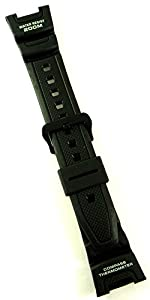 Genuine Casio Replacement Watch Strap 10304195 for Casio Watch SGW-100-1VH marca Casio