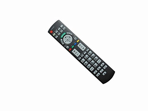Universal Replacement Remote Control For Panasonic Tc-L24C3 Tc-L32E3 Pt-60Lc14 Th-42Pd25 Viera Lcd Led Plasma Hdtv Tv