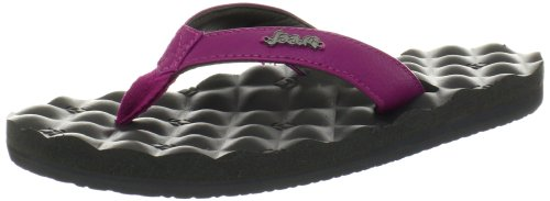 Reef Women'S Dreams Thong Sandal,Grey/Purple,7 M Us