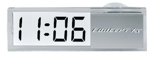 Stick Up Digital Clock with Date - See Through