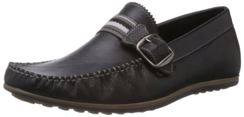 Famozi Famozi Men's Leather Casual Loafers And Mocassins (Multicolor)