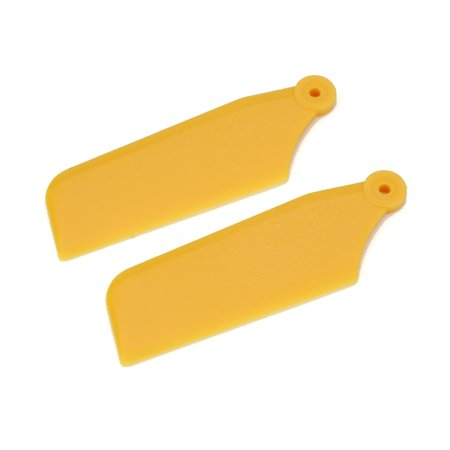 Tail Rotor Blade Set, Yellow: 450 X/XL - 1