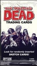 The Walking Dead Comic Series Trading Card Pack - 1