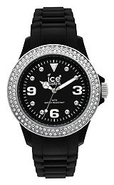Ice-Watch Stone Sili Black Dial Unisex watch #ST.BS.U.S.09