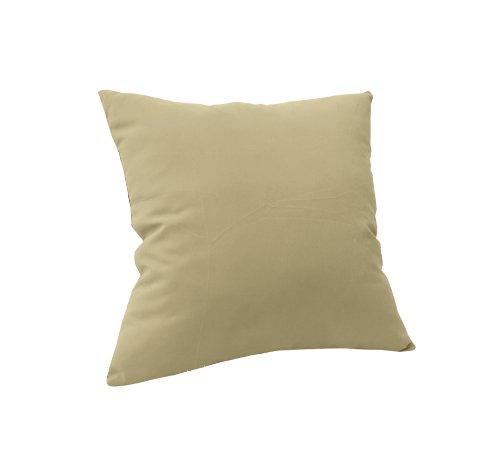 Paradise Cushions Pl01Tp-2-48019 Knife Edge Throw Pillow, Sand, 2-Pack