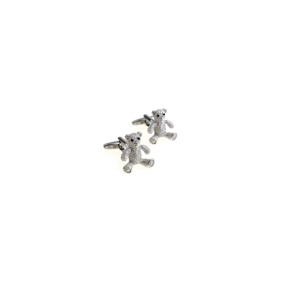 Teddy Bear Cuff links Gift Boxed(wedding cufflinks,jewelry for men,gift for groom)