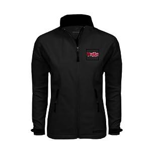 Arkansas State Ladies Black Softshell Jacket