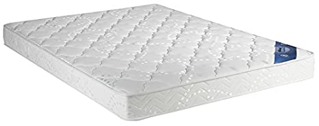 Doux Rêve Mattress 180X200 cm Super King Size - Density: 30 kg/m3 - Height: 18 cm - MEDIUM FIRM Support - Orthopaedic 180 x 200