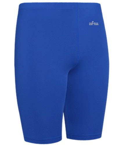 Emfraa Men Women Compression Base Layer Running Tight Skin Shorts Blue S ~ 2XL
