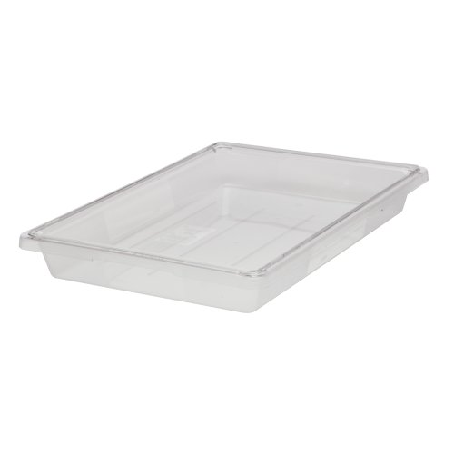 Rubbermaid Commercial Fg330600Clr Food/Tote Box, 5-Gallon front-566162