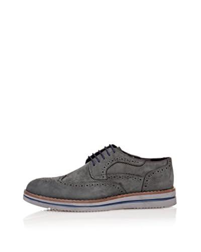 Wolfland Zapatos Derby Mavi Gris