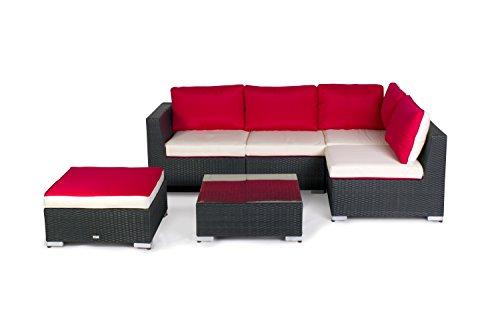 Vanage-XXXL-Gartengarnitur-Chill-und-Lounge-Set-Madrid-bereits-zusammengebaut-schwarz-rot-wei