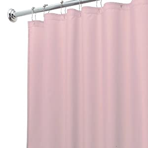 Amazon.com: InterDesign Design Waterproof Shower Curtain Liner ...