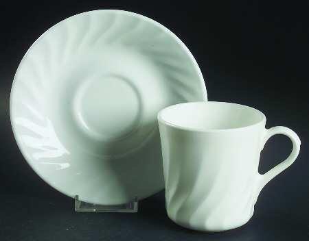 Corning Enhancements (CorelleMicrowave) Mug/Cup \u0026 Saucer Set Fine China & Dinnerware Sets