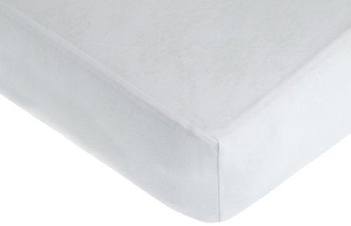 American Baby Company Supreme Jersey Knit Fitted Crib Sheet, White (Jersey Crib Sheet compare prices)