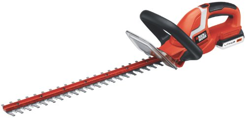 Great Features Of Black and Decker LHT2220 22-Inch 20-Volt Lithium Ion Cordless Hedge Trimmer,Includ...