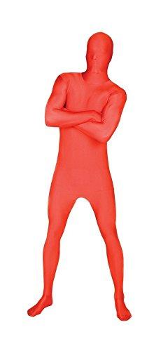 Morphsuits - Costume intero aderente per travestimento, Adulto, taglia: L, colore: Rosso