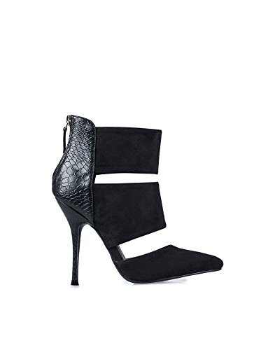 Nly Shoes Women'S Cut Out Stiletto Boot Black 36