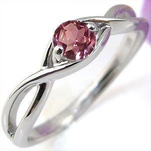 プレジュール ピンクトルマリン・エンゲージリング・K10・婚約指輪・大粒・指輪 リングサイズ10号